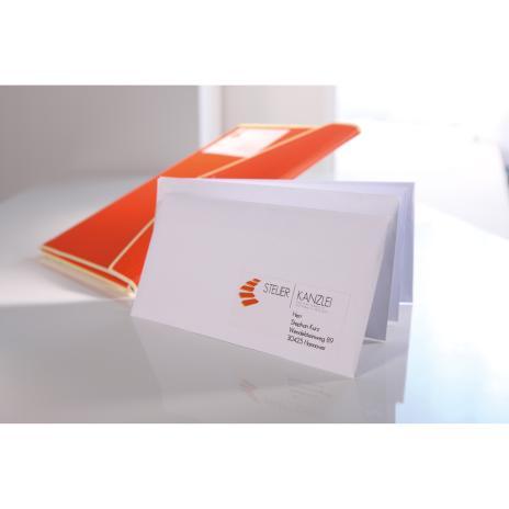 Avery Zweckform Universaletikett weiß, 105 x 148mm,400 Etik./Pck.-8