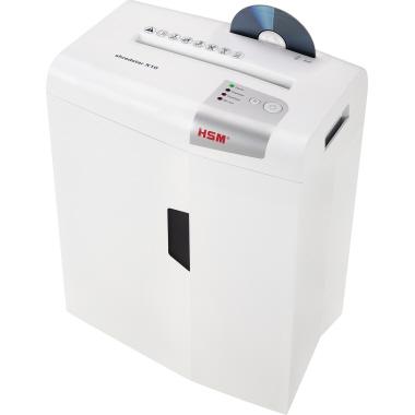 HSM® Aktenvernichter shredstar X10, P-4-9