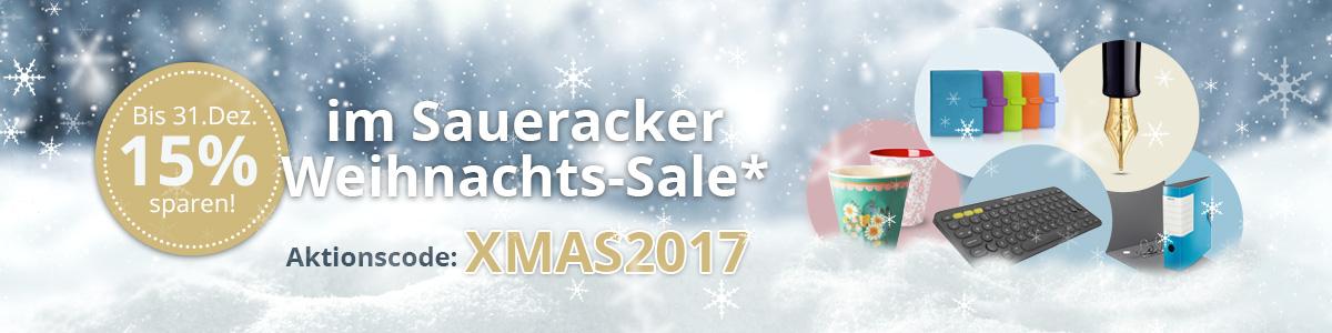 15 % sparen im Weihnachts-Sale