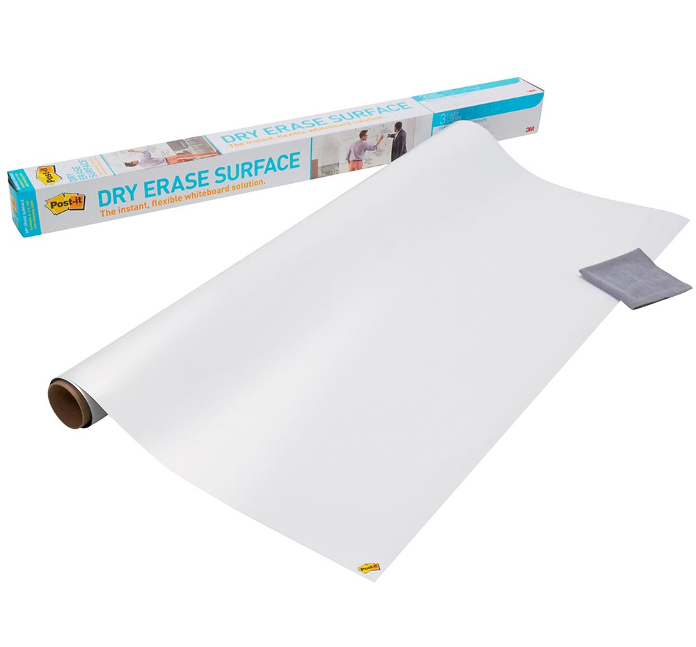 Post-It Whiteboard Folie Super Dry Erase