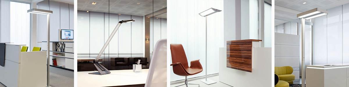 Büroeinrichtung Beleuchtung