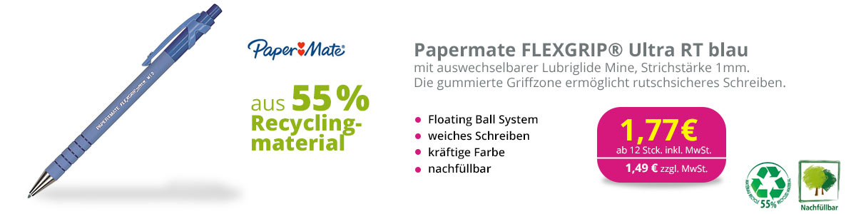 Papermart Kugelschreiber FLEXGRIP Ultra RT