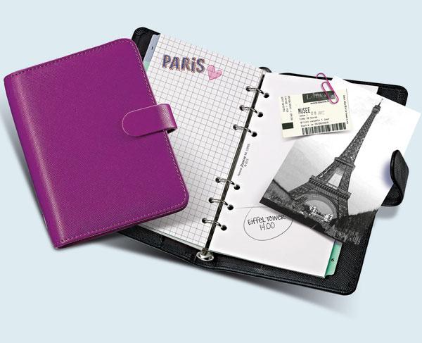 Filofax Einlagen für Kalender, Notizen und Telefon
