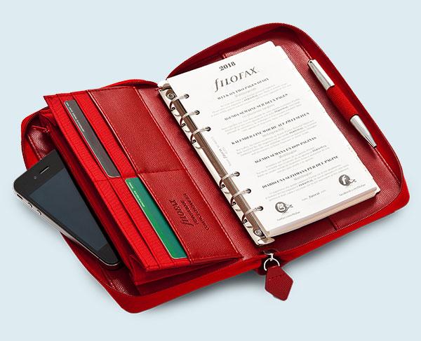 Übersicht Filofax Timer & Organiser