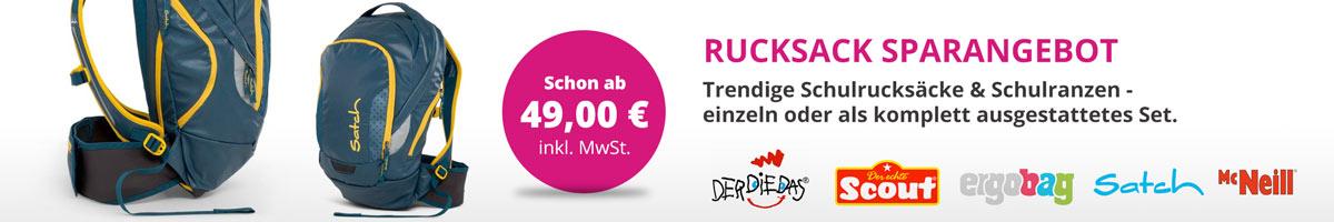 Schulrucksäcke und Schultaschen im Saueracker Online Shop günstig kaufen